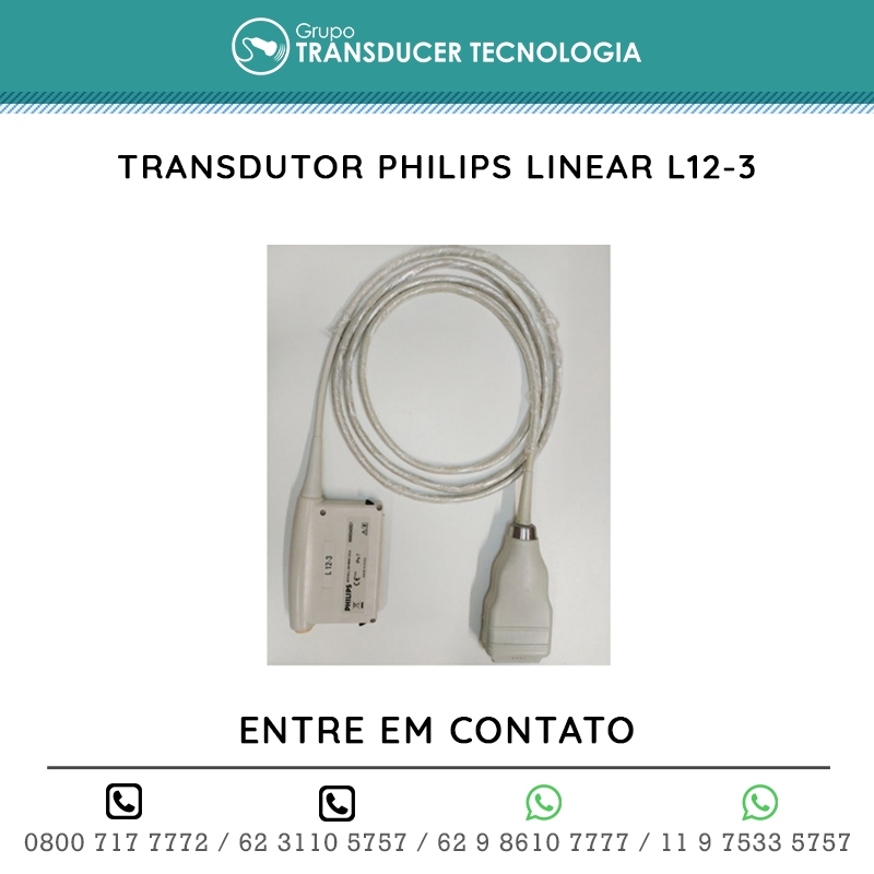 TRANSDUTOR PHILIPS LINEAR L12 3