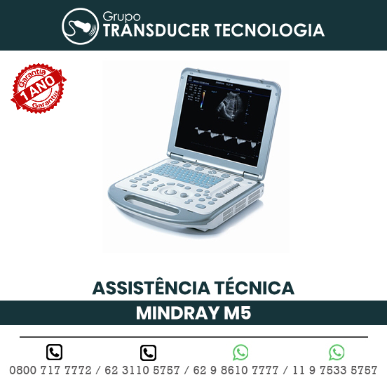 ASSISTENCIA TECNICA ULTRASSOM PORTATIL MINDRAY M5