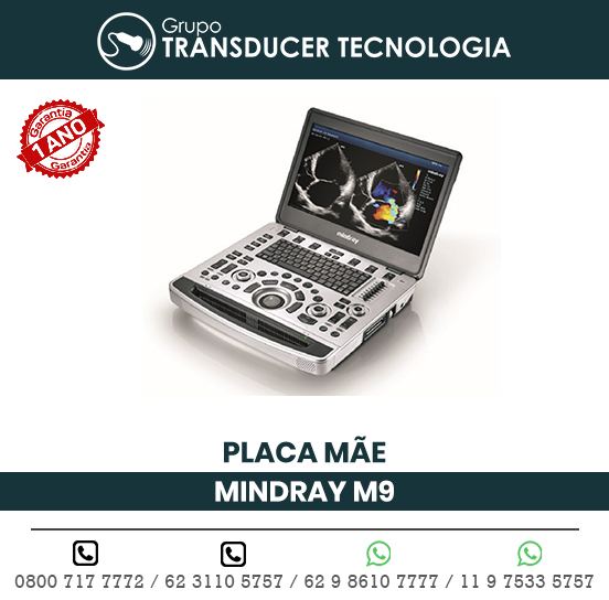 PLACA MAE ULTRASSOM PORTATIL MINDRAY M9