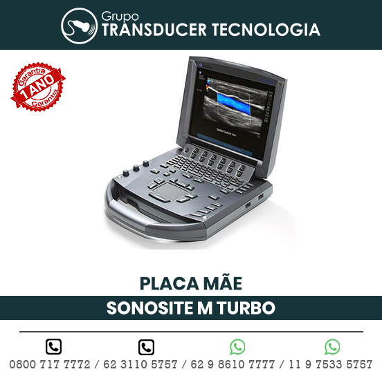 PLACA MAE ULTRASSOM PORTATIL SONOSITE M TURBO