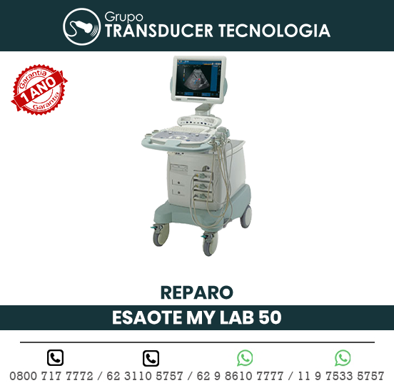 REPARO ULTRASSOM ESAOTE MY LAB 50