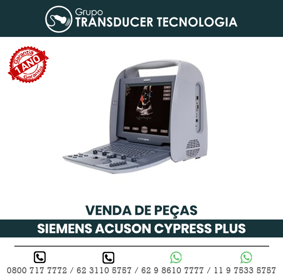VENDA PECAS ULTRASSOM PORTATIL SIEMENS ACUSON CYPRESS PLUS